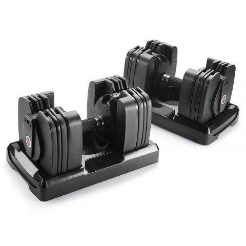 Bowflex 560 SelectTech Säädettävät Käsipainot Bluetoothilla 2-27kg