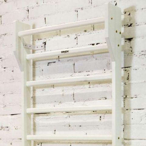 Dinox Wood+ puolapuut valkoinen | Treenikauppa.fi