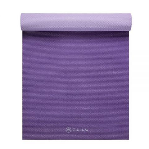 Gaiam Purple Jam Kaksivärinen Joogamatto 6mm