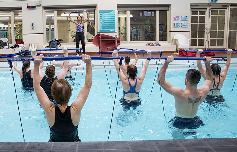 Gymstick Aqua Jumppakeppi vesijumppa harjoitus