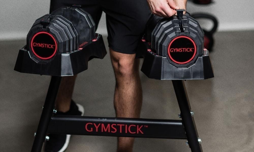 Gymstick quick-lock käsipaino 22,5kg