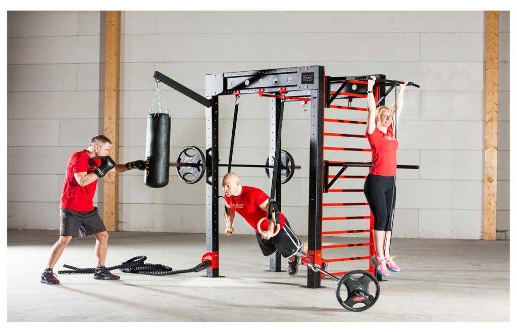 Gymstick Crosstraining Cage monitoimiteline  harjoittelu