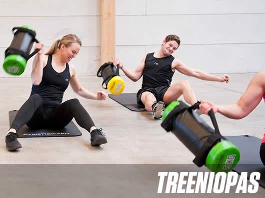 Treeniopas Fitnessbagillä harjoitteluun