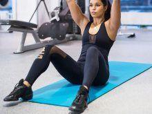 Treeniopas jumppamatolla harjoitteluun