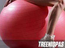 Treeniopas jumppapallolla harjoitteluun