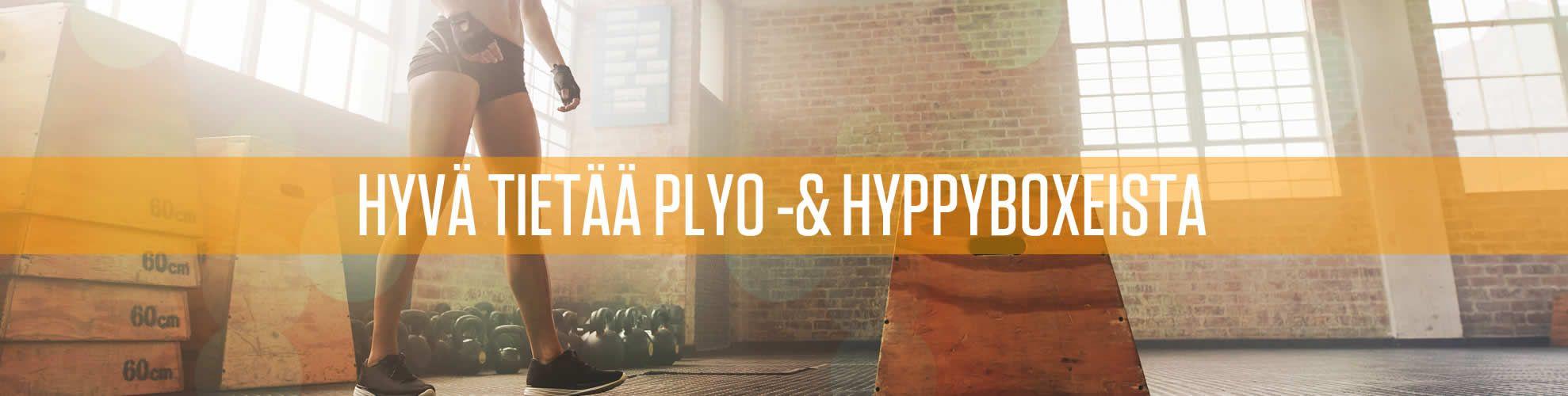Hyvä tietoo plyoboxeista ja hyppyboxeista