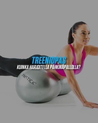 Treeniopas pähkinäpallolla harjoitteluun