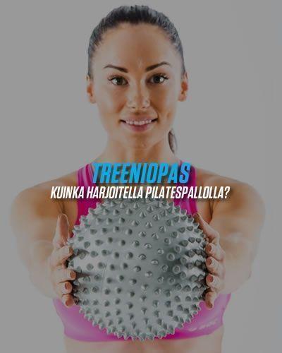 Treeniopas pilatespallolla harjoitteluun